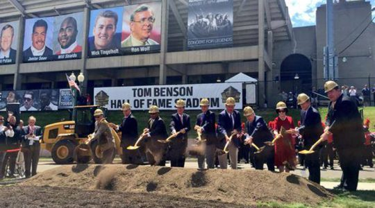 Pro Football Hall Of Fame Begins $476 Million Construction Project