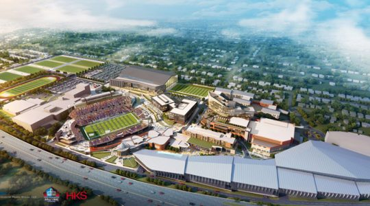 Pro Football Hall Of Fame's $700 Million Expansion Will Be Like Disney For Football Fans