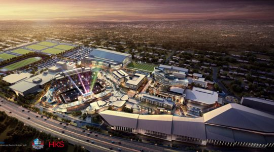 NFL Looks to Bring Touch of Disney to Hall of Fame
