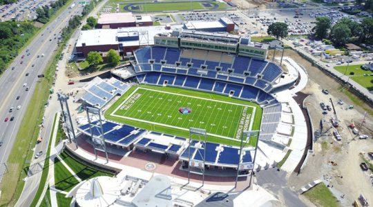 Tom Benson Hall of Fame Stadium dedicated